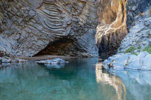 gole di alkantara - trekking - acque fredde