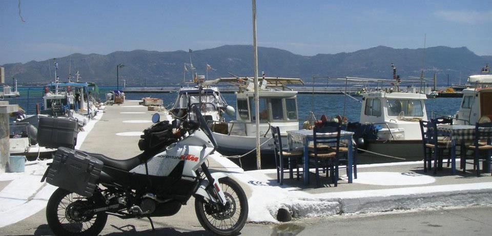 grecia viaggio moto enduro