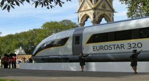 treno eurostar londra