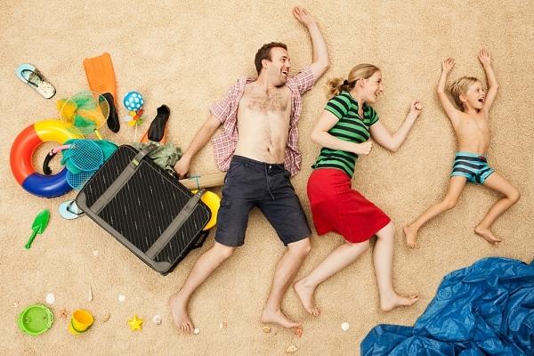 family mooning vacanza formato famiglia