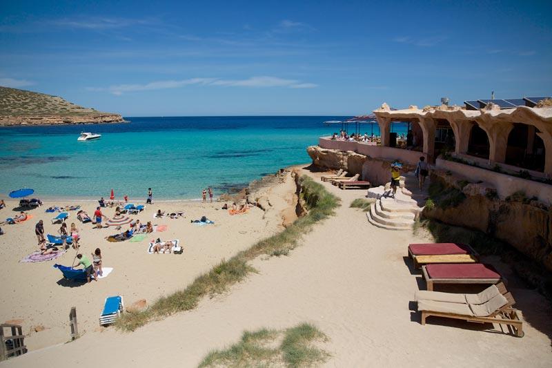 Playa de Comte di Ibiza