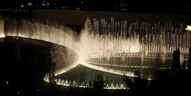 dubai fontaines