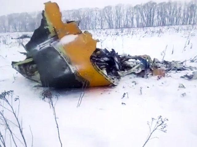 Russia: disastro aereo, 71 morti